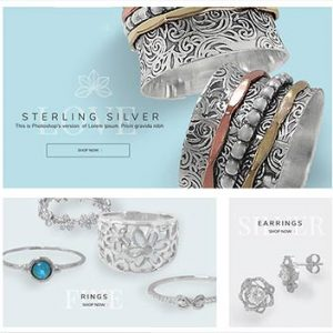 e-commerce jewelry store