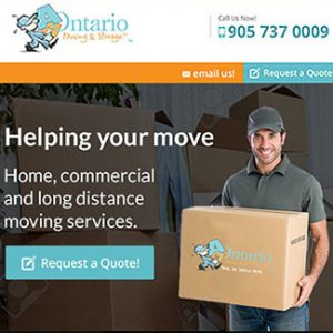 website design moving company am ontario thumb 1