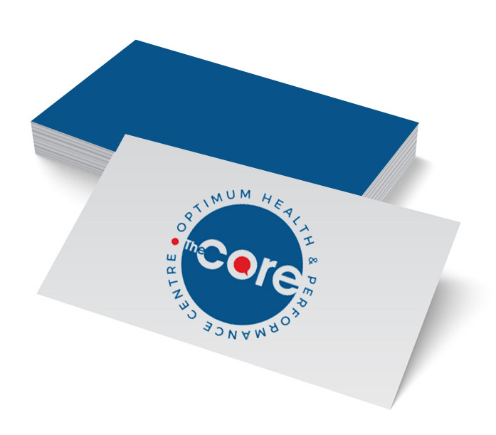 business card the core optimum health