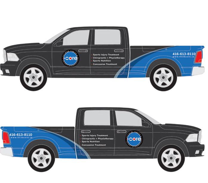 the core vehicle wrap 1