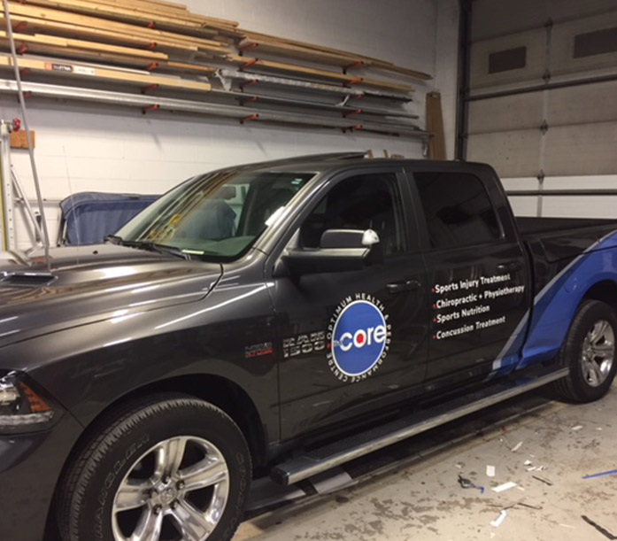 the core vehicle wrap 3