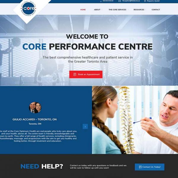 website the core optimum health