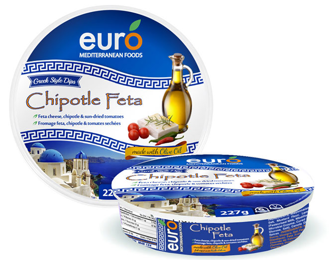 package design feta cheese