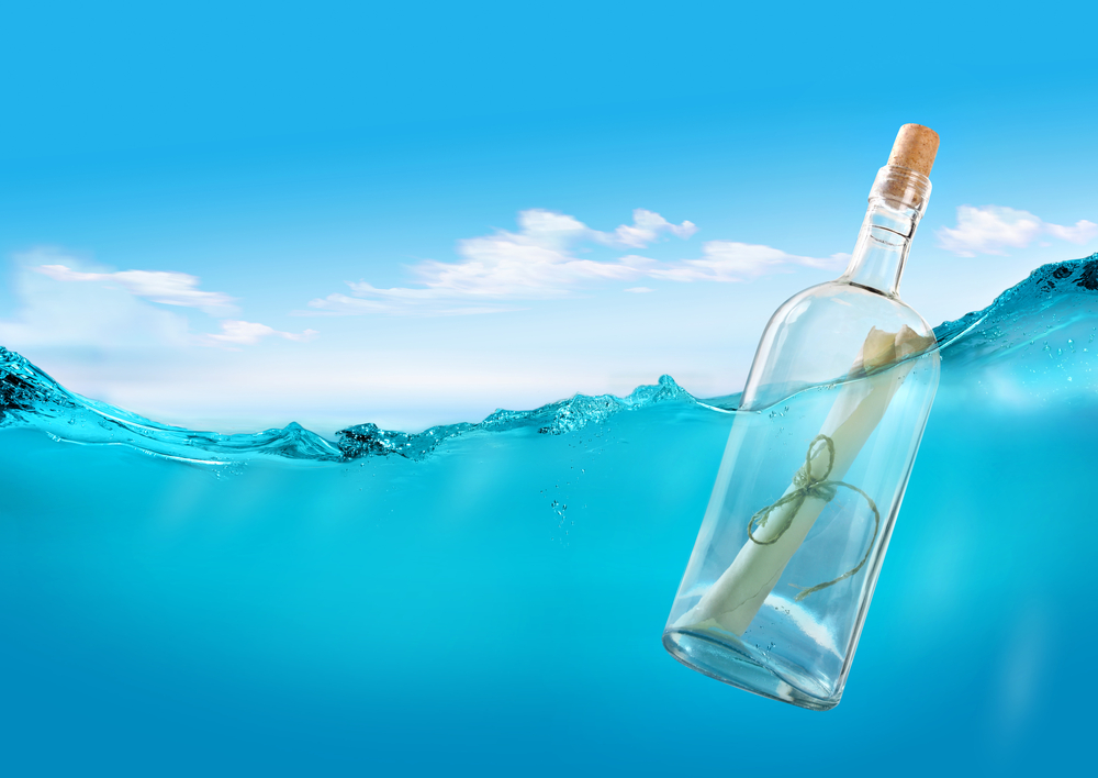 It's like a message in a bottle if your business doesn't have identity optimization.